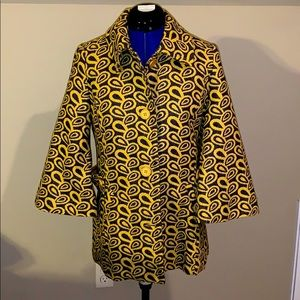 🆕Esley Collection Yellow Coat, S NWT